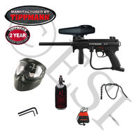 Tippmann A-5 HE Paintball Gun (Electronic Full Auto) 48ci E Basic Kit
