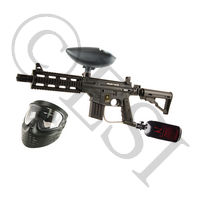 US Army Project Salvo Paintball Gun - Black Basic HPA Kit