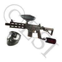 US Army Project Salvo Paintball Gun - Black Basic HPA Kit