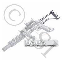 Skeleton Buttstock for [Tippmann 98, Alpha Black, BT, Carver One, Project Salvo]