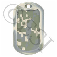 2 Pack of Rubber Dog Tag Silencers