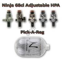 Adjustable Tank 68ci 4500F Pick a Reg