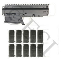 Magazine Fed Conversion Kit with 10-Pack of 14 Round DMAGs [X7 Phenom]