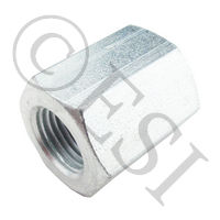 "Coupler 1/8""F 1/8""F - HP 5000psi - Steel"