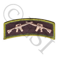 Crossed Rifles Morale Patch