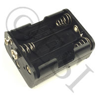 6 AA Battery Holder for Scion, Halo-B, or Magna Hoppers