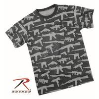 Guns Printed Tshirt