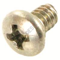 Screw - Phillips - Button - Stainless Steel - 3/16 Inch