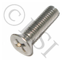 Screw - Phillips - Flat Cap - Stainless Steel - 3/4 Inch