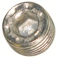 1/8th Inch NPT Plug - Silver