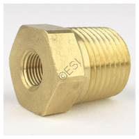 320 CGA Male Thread to 1/8 NPT Female Thread Adapter
