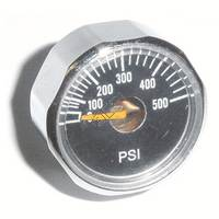 Micro Gauge 0-500psi - 1/8th Inch NPT Post Mount