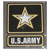 TA06023 US Army Name Plate [Alpha Black, Alpha Black E]