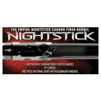 Nightstick 1 Piece Carbon Fiber Barrel - 14 Inch [Cocker Threads]