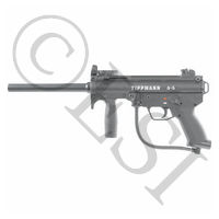 A5 Paintball Gun with Reactive Trigger - (new 2011 style)