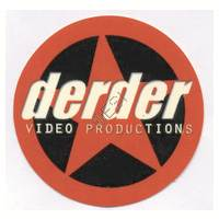 'DerDer' Star Round Sticker