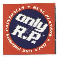'Only R.P.' Round Sticker