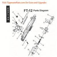 Tippmann FT-12 Gun Diagram