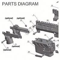 Tacamo Magazine Kit MKV-98 - 98 Custom Gun Diagram