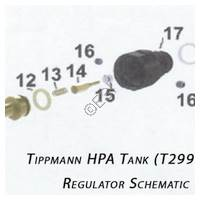 Tippmann HPA Tank Regulator Diagram Diagram