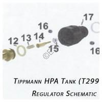 Tippmann HPA Tank Regulator Diagram Diagram