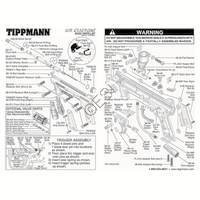 Tippmann 98 Custom Gun - Non-ACT V080606 - Push Sear Diagram