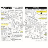 Tippmann 98 Custom Platinum Series ACT Gun Diagram