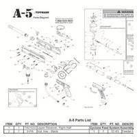 Tippmann A-5 Basic 2011 Diagram