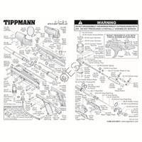 Tippmann A-5 E-Grip Gun V2 Diagram