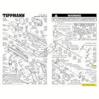 Tippmann A-5 RT  Gun V2 Body V090409 Diagram