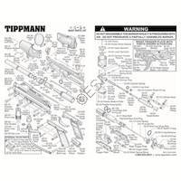 Tippmann A-5 Basic V2 Gun Diagram