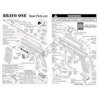 Tippmann Bravo One Gun Diagram