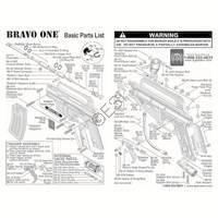Tippmann Bravo One Gun Diagram