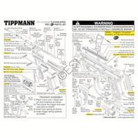 Tippmann 98 Custom Pro Platinum Series ACT Gun Diagram