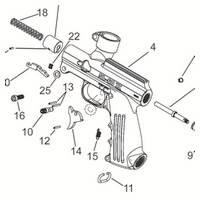 Tippmann SL-68 II Gun - Generation 2 Diagram