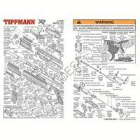 Tippmann X7 E-GRIP Marker  071126 Diagram