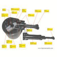 Tippmann X7 PL Cyclone Feed System Complete Diagram