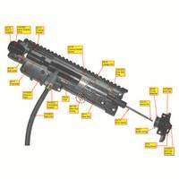 Tippmann X7 Gun PL  Internals Diagram