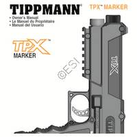 Tippmann TPX  V090421 Manual