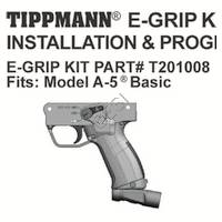 Tippmann A-5 H E-Grip V3 Manual