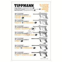 Tippmann 98 Custom Pro Platinum Series E-Grip ACT Gun Manual