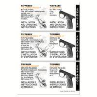 Tippmann 98 Custom Gun E-Grip Installation Manual