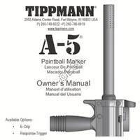 Tippmann A-5 Basic 2011 Manual