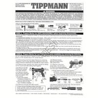 Tippmann A-5 Gun Low Pressure Kit Manual