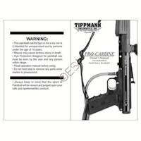 Tippmann Pro-Carbine Gun Manual