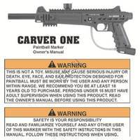 US Army Carver One  VTP04606 Manual
