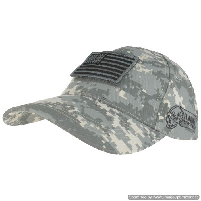 Flag Cap with Velcro Patch Army Digital 2c1dd7ae760