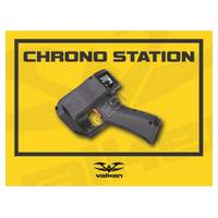 Paintball Vinyl Field Sign with Grommets - 'Chrony Station'