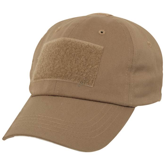 74a910a8325a87 Operator Tactical Cap with Hook and Loop Patch Mounts