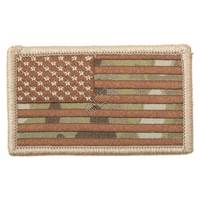 American Flag Patch w/HookBack